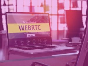Amazon Connect and Service Cloud Voice use WebRTC for handling calls