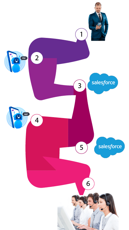 Query Salesforce for real-time data
