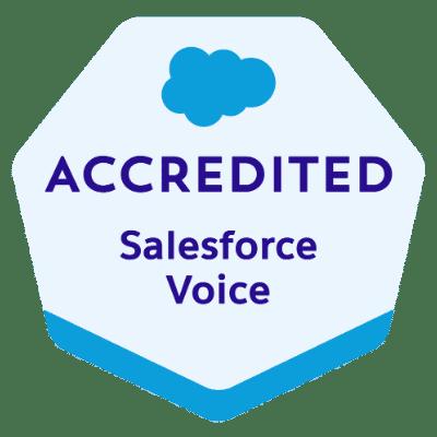 Salesforce Service Cloud Voice Accredited